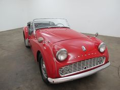 1953 austin healey 100 4 2 seater convertible sports car ultra rare right hand drive red. Black Bedroom Furniture Sets. Home Design Ideas