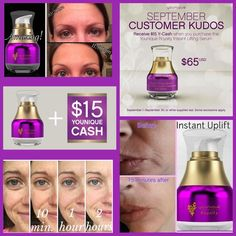 Receive $15 in y-cash to go towards a future order when you purchase Younique's…