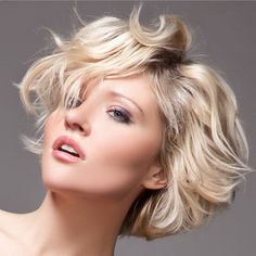 wavy short hairstyle for thick hair 2013 Short Hairstyles For Thick Hair 2013