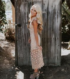 seriously couldn't look any prettier in our crochet lace Victoria Dress by Winston White. Link in bio to shop it. Savannah Soutas, Cole And Savannah, Winston White, Sav And Cole, Blond, Everleigh Rose, Summer Outfits, Cute Outfits, Victoria Dress