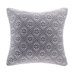 OLLIIX - Snowflake Knit Square Pillow 20x20