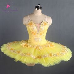 Find More Ballet Information about Customized Shinny Yellow Ballet Tutu Girls Ballerina Dance Costume Professional Stage Show Costumes Classical Tutu Dress B17062,High Quality Ballet from Love to dance on Aliexpress.com