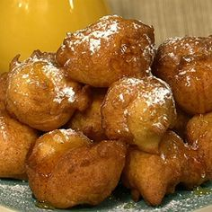 Michael's Ricotta Fritters Recipe #thechew