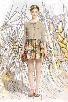 Red Valentino Spring 2014 Ready-to-Wear Collection Slideshow on Style.com Leave as is a girl can mix this with everythin!! Great hightops to sandals!!
