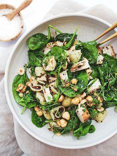 Salad Bowls, Quinoa, Lunch Box, Desserts, Yum Yum, Dinner, Spinach, Tailgate Desserts, Dining