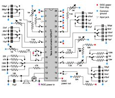 Hack the original 1978 arcade audio chip for classic and novel sound FX Electronics Mini Projects, Hobby Electronics, Electronics Basics, Cool Electronics, Electronic Kits, Electronic Schematics, Electronic Engineering, Electrical Circuit Diagram, Electrical Work