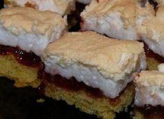 Vigyázat, amilyen gyorsan elkészül, olyan gyorsan el is illan Hungarian Desserts, Torte Cake, Sweet Cookies, Relleno, Baked Goods, Cookie Recipes, Sushi, Sandwiches, Deserts