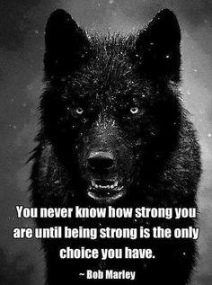 Nunca sabrás lo fuerte que eres, hasta que ser fuerte sea la única opción que tienes