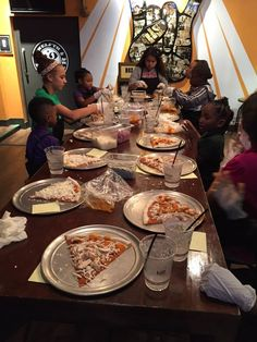 The kids had so much fun last night making pizza at Music City Pizza!