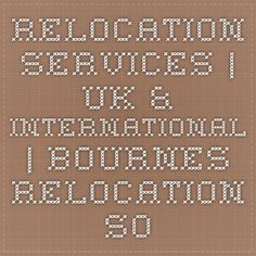 Relocation Services | UK & International | Bournes Relocation Solutions