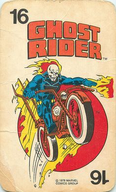 Marvel Comics Superheroes Card Game | Ghost Rider