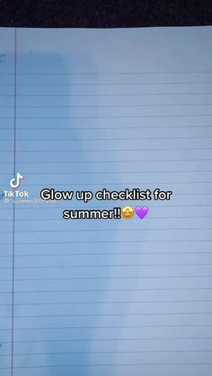 Beauty Routine Schedule, Summer Body Workouts, Self Confidence Tips, The Glow Up, Get My Life Together, Girl Advice, Glow Up Tips, Baddie Tips, Amazing Life Hacks