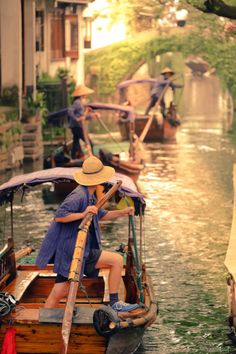 Water Village - Zhouzhuang - China. This, too, could happen in YOUR village. How cool!  REASONS TO BUILD A BETTER VILLAGE 002