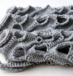STRIKKS: experimental knitted loops