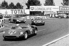 Ferrari 250P châssis n° 0810 Le Mans 1963 Mike Parkes