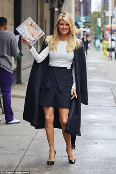 Christie Brinkley has been heavily promoting her new book, Timeless Beauty...