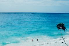 Turquoise waters of Tulum, Mexico   Lucy Laucht