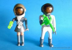 PAREJA ESPACIAL - AIRGAMBOYS MISS AIRGAM - ASTRONAUTA - SERIE ESPACIO SPACE - GALAXY PATROL