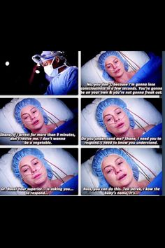 Meredith's acting was amazing..She really plays her part so well!