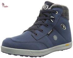 Bruetting 541287, Sneakers Hautes Femme, Bleu (Marine), 43 EU - Chaussures brtting (*Partner-Link)
