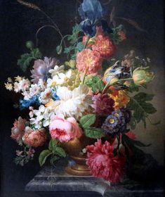 Royal Museums of Fine Arts of Belgium. Fruit Painting, Oil Painting Flowers, Art Floral, Plant Art, Botanical Art, Flower Art, Art Flowers, Art Oil, Amazing Art