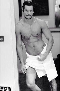 "David Gandy ""The Towel Series"". The best."