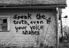 voice shakes