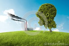 Photo about Tree in the shape of head screams to the pollution. Image of shape, hill, environment - 31381607 Tree Shapes, Nature Tree, Scream, Golf Courses, Environment, Photography, Image, Buxus, Fotografie