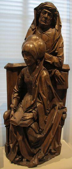 Tilman riemenschneider, salome e zebedeo, 1510 ca. 01 - Category:Tilman Riemenschneider - Wikimedia Commons