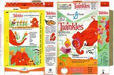 General Mills - Twinkles cereal box flat - 1960 by JasonLiebig, via Flickr