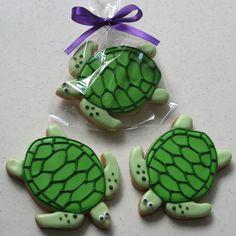 Turtle cookie designs