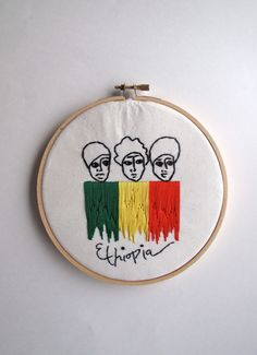 Hey, I found this really awesome Etsy listing at https://www.etsy.com/listing/212239331/ethiopian-women-hand-embroidered-hoop