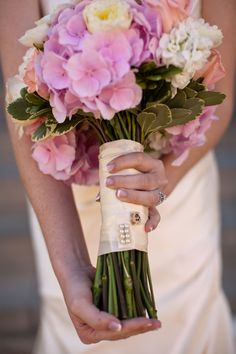 AXO My Bouquet with Alpha Chi Omega Pin