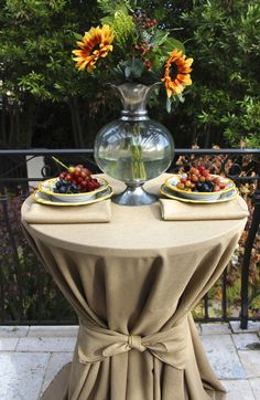 Fall Colors And Havana Faux Burlap Table Linens From Premier Table Linens  Http://