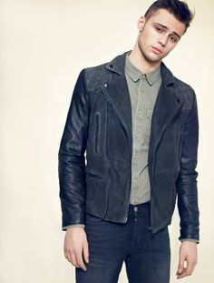 AllSaints...want this jacket for Sam