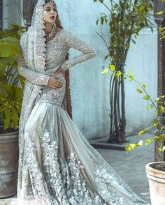 Pakistani couture Saira Shakira bridal collection this season ❤ Join them for a preview in Lahore for their critically acclaimed Zohra bridal couture collection on 16th November at Galleria Mall. @sairashakira #love#bridal#zohra#lahore#pakistan#wedding#pakistanvogue