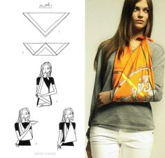 Perhaps the only way to make a woman with a broken arm just a touch happier: a Hermes scarf sling.