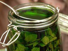 Macerowanie nalewki z mięty Sugar Free Desserts, Irish Cream, Preserves, Pickles, Baking Soda, Peppermint, Cucumber, Herbalism, Alcoholic Drinks