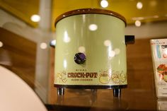 The crock pot was born in 1975; this is one of the first. Slideshow of images from the #foodhistory exhibition.