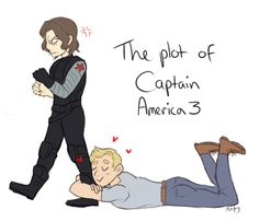 OH heavens. I hope Bucky is a little more receptive than that. But that can be a particular scene! I'm OK with that!! XD