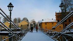 #sweden, #uppsala, #snowy bridge, #naturallight, #photography, #nikong11