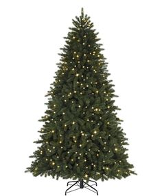 Entertain guests with the grandeur and highly realistic Hampton Hills Spruce Christmas Tree.