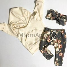 Baby outfit : baby clothing : floral : baby girl outfit : The charlotte : cute baby clothes : handmade baby clothes