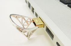 Memoirs functional USB jewelry courtesy 3D printing_6