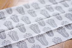 hand printed fabric swap