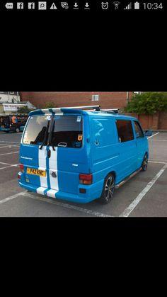 Volkswagen Transporter, Vw, T4 Camper, Car Painting, Campervan, Van Life, Golf, Ideas, Van