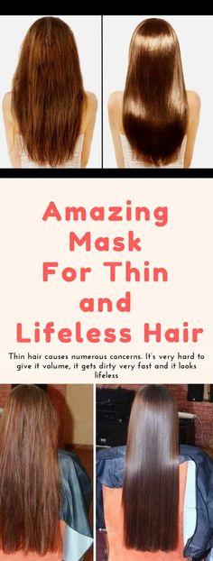 Amazing Mask For Thin and Lifeless Hair! #banana #honey #beer #hair #beauty