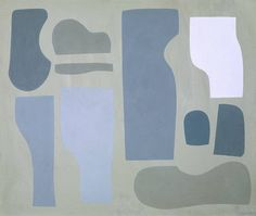 Jessica Dismorr, Related Forms, 1937, Tempera on board