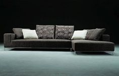 Cool Trend Home Interior Grey Modern Microfiber Sectional Sofas ~ http://lanewstalk.com/how-to-match-modern-sectional-sofas/
