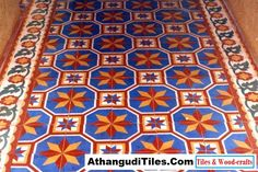 Com - Athangudi Tiles - Tile Designs Room Wall Tiles, Indian Crafts, Tile Patterns, Tile Design, Wood Crafts, Rugs, Antiques, Invite, Home Decor